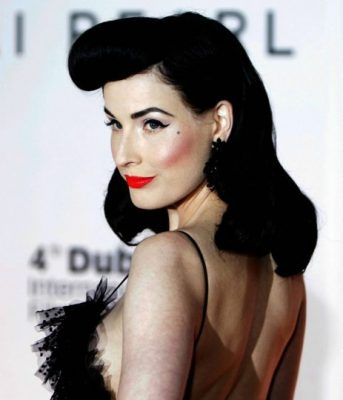 Dita von Teese Bettiesque Huffington Post
