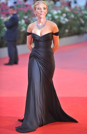 Scarlett Johansson at the Venice Film Festival